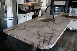 Veined Countertop